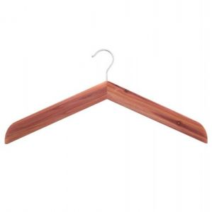 1 Smooth Cedar Wood Shirt/Jacket Hanger