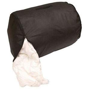 Black Breathable Caraselle Double Size Duvet & Quilt Storage Bag 59 x 48 cms ( 23