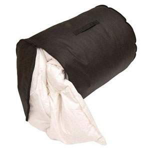 Black Breathable Caraselle King Size Duvet & Quilt Storage Bag, 65 x 55cms ( 25 1/2