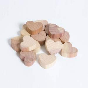 Cedar Hearts - 6 packs of 15