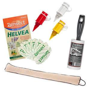Breeze Blocker Gift Pack-Pet Hair Roller,Carton Pourer & Pk of Helvea