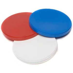 Pack of 9 Reusable Stay Fresh Plastic Can Caps in assorted colours