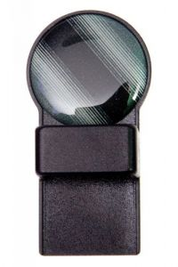 Black & Grey Stripe Round Magnetic Tozo Spectacle Holder
