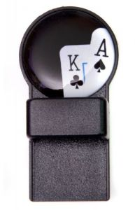 Playing Cards Black Round Magnetic Tozo Spectacle Holder