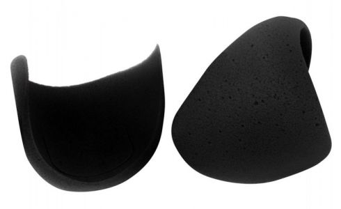 One pair of Caraselle Deluxe Foam Shoulder Pads in Black