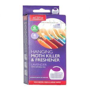 Acana Hanging Moth Killer & Freshener Pack of 4 from Caraselle