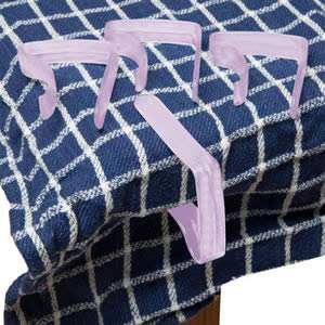 Pack of 4 Purple Table Cloth Clips