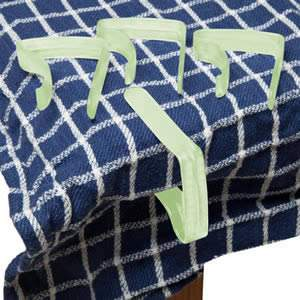 Pack Of 4 Green Table cloth clips