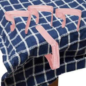Pack of 4 Pink Table Cloth Clips