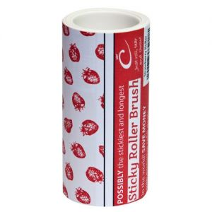 Caraselle 7.5m Sticky Roller Refill - Strawberry Design