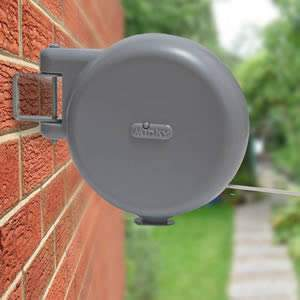 The Caraselle Retractable Clothes Line by Minky. Extends to 15m.