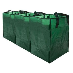 3 x Large Connectable Recyling Bags from Caraselle