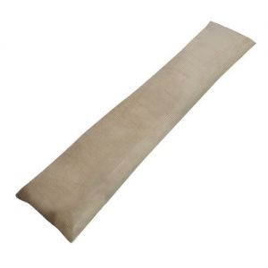 Draught Excluder in Beige Corduroy