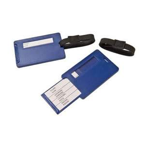 Caraselle Pack of 2 Luggage Tags with Hidden Address
