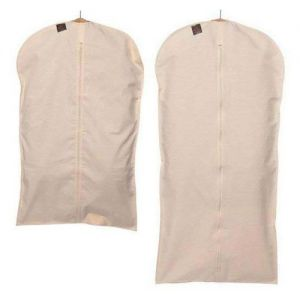 100% Cotton Garment Cover, Zipped