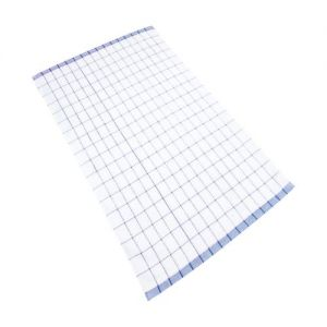 Deluxe Tea Towel Check Cotton and Microfibre 40x60cm
