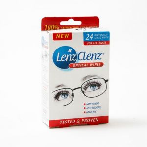 Caraselle Lenz Clenz Optical Wipes 24