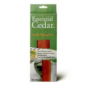 Woodlore Cedar Wood Hang-Up 270 x 48 x 19mm from Caraselle