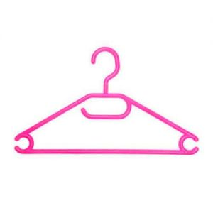 Caraselle Childs Vibrant Pink Swivel Hook Hanger - Pack of 10