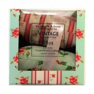Heathcote & Ivory Vintage Rose Cushions