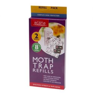 Acana Moth Monitoring Trap Pack of 2 Refills from Caraselle