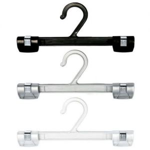 Plastic Hanger with Strong Clips from Caraselle