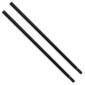 Pair of 30 Black Garment Rail Extension Pieces