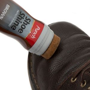 Punch Shoe Shine Liquid Polish Brown 75ml from Caraselle