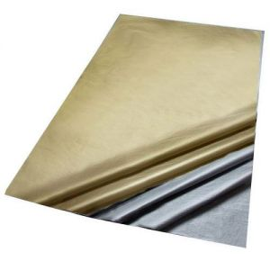 5 Sheets of Metallic Acid Free Bleed Resistant Unbuffered Tissue Paper 500 x 700