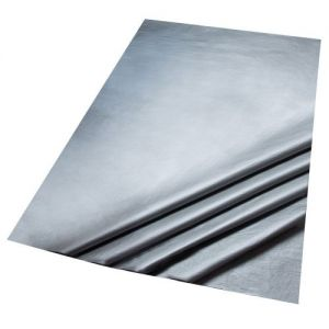 5 Sheets of Metallic Silver Colour Acid Free Bleed Resistant Unbuffered Tissue Paper 500 x 700