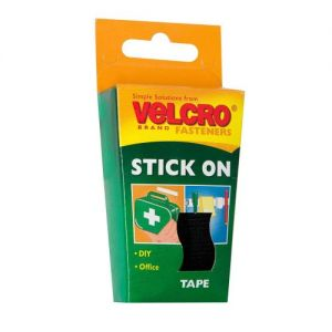 VELCRO® Black Stick On Tape 20mm x 50cm (60225) from Caraselle