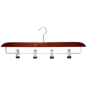 Imperfect Cherry Finish Kilt Hanger from Caraselle - 50cm Wide