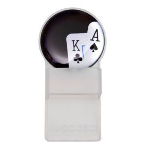 Caraselle Oval Tozo Spectacle Holder Clear Playing Cards