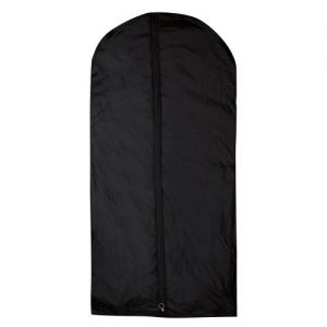 Black Nylon Dress Cover With Gusset - 137 x 62 x 8cm