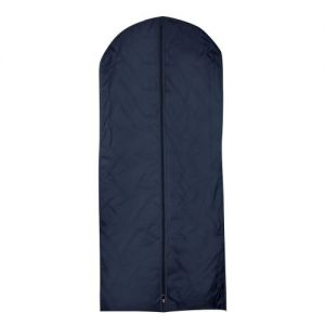 Navy Nylon Dress Cover With Gusset - 137 x 62 x 8cm