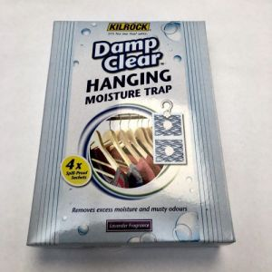 Kilrock Damp Clear Hanging Moisture Trap 4x 50g Sachets from Caraselle