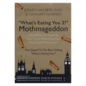 Mothmaggedon: 'What's Eating You 2?' The Moth Book by Caraselle - NEW