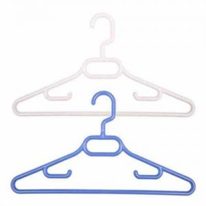 Caraselle 3 Childrens' Plastic Coat Hangers with Swivel Rotating Hook