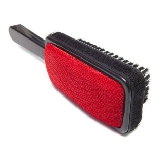Black Triple Action 3 Way Clothes Brush