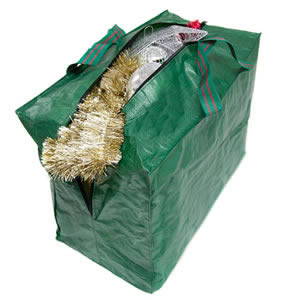Caraselle Christmas Decorations Strong Zipped Storage Bag with Handles 46 x 38 x 25cm from Caraselle