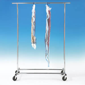 3 Standard Size Vacuum Organisers for Hanging and Storing Clothes