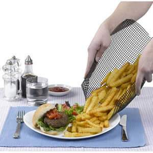 Quickachips - oven proof chip basket
