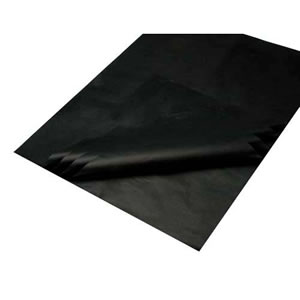 1 Pack of 25 sheets of Deluxe Black Acid Free Bleed Resistant Unbuffered Tissue Paper 380 x 500