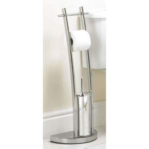 Arc Shaped Toilet Roll Holder from Caraselle