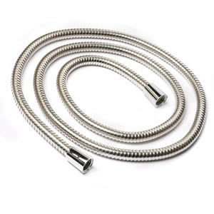 Caraselle Superlux Chrome-Plated Stainless Steel Shower Hose 200cm x 11mm
