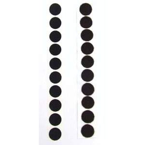 1 Pack of 10 Black VELCRO® Brand Velcoins