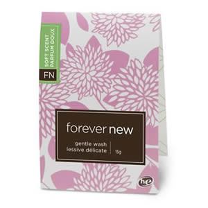 The Caraselle Forever New Fabric Gentle Wash Handy 15g Sachet