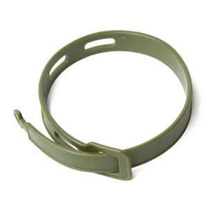 Dark Green Bug Band - Insect Repelling Wristband