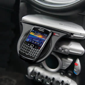 The Caraselle BlackBerry Dashboard Mount.  Voted Best British Invention of 2011 by The British Inventors Society