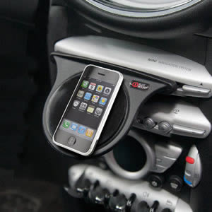 The Caraselle iPhone Dashboard Mount. Voted Best British Invention of 2011 by The British Inventors Society